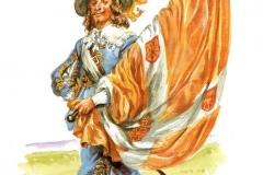 Enseigne-du-régiment-de-Navarre-Louis-XIII