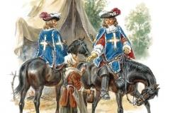 Maison-du-Roi.-Mousquetaires-noirs.-1660