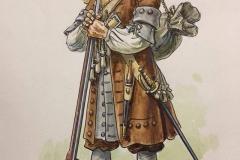 Mousquetaire-du-régiment-de-Carignan-Sallières-Louis-XIV-2
