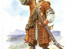 Mousquetaire-du-régiment-de-Carignan-Sallières-Louis-XIV
