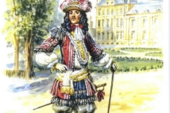 Officier-dInfanterie-dans-les-Jardins-des-Tuileries-1663
