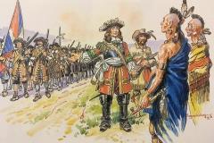 régiment-de-Carignan-1665-1667-2
