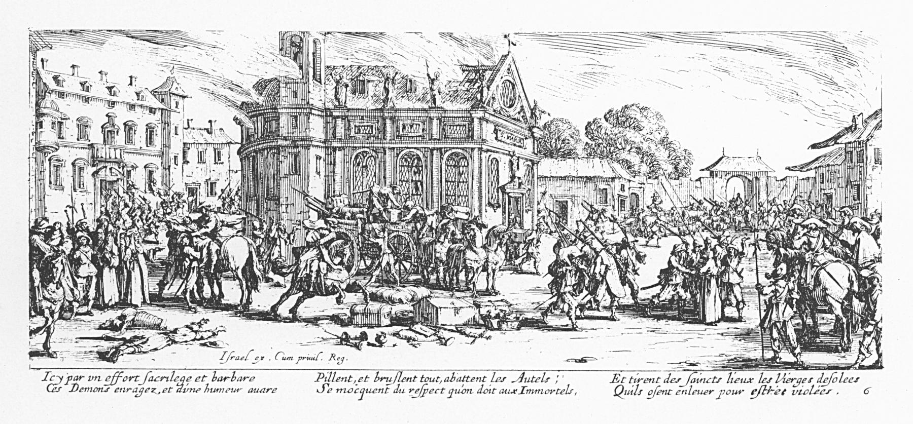 Les_misères_et_les_malheurs_de_la_guerre_-_06_-_Dévastation_d_un_monastère