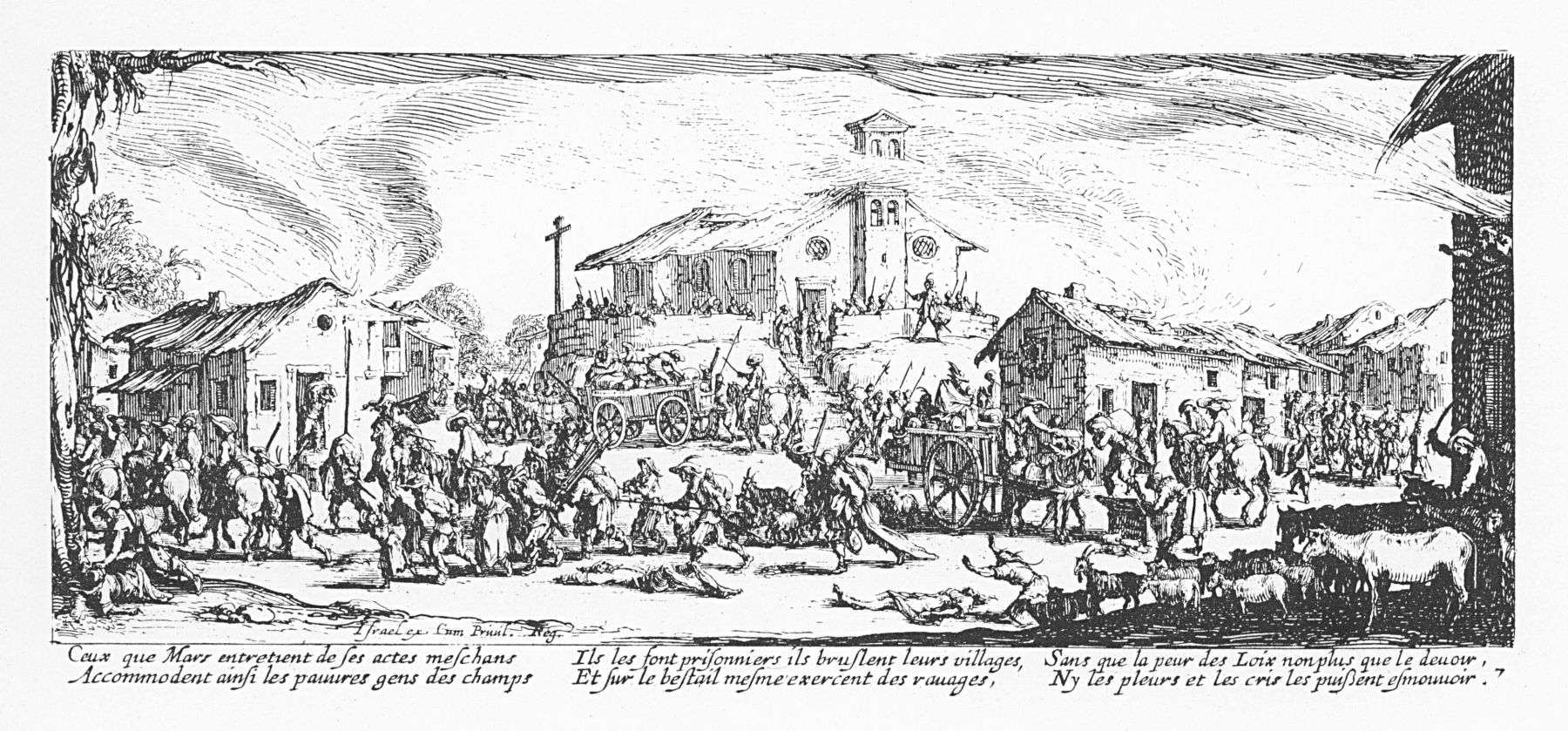 Les_misères_et_les_malheurs_de_la_guerre_-_07_-_Pillage_et_incendie_dun_village